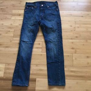 Men's 30x30 medium wash Levi skinny jeans